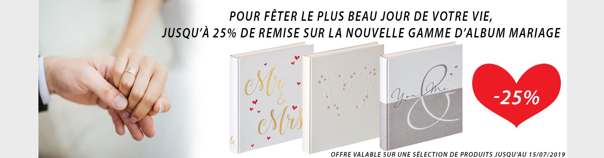 Promo Nouveautés - Albums mariage