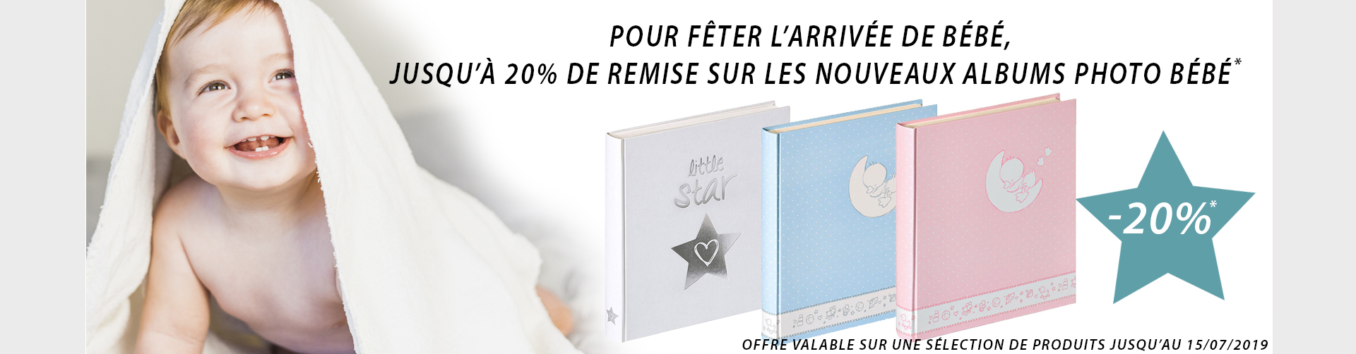Promo Nouveautés - Albums naissance
