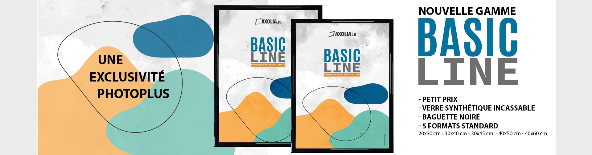Nouvelle gamme Basic Line