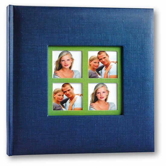 Album mémo 200 photos 11x15cm Brasil bleu