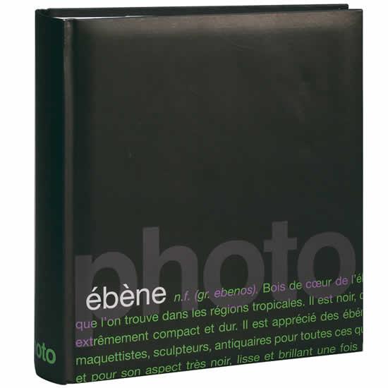 Album photo noir Words 200 photos 11,5x15