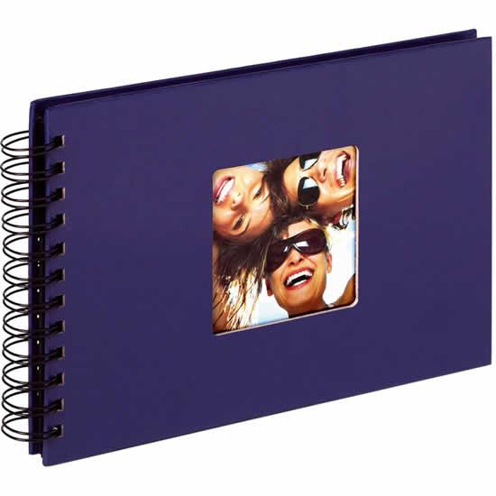 Album photo bleu Fun 40 photos 10x15 ou 13x18cm