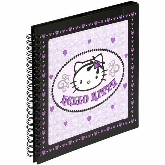 Album photo Hello Kitty mauve 160 photos spirales