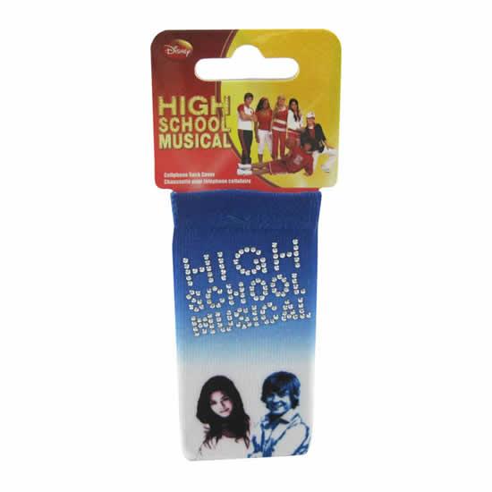 Chaussette téléphone High School Musical bleue