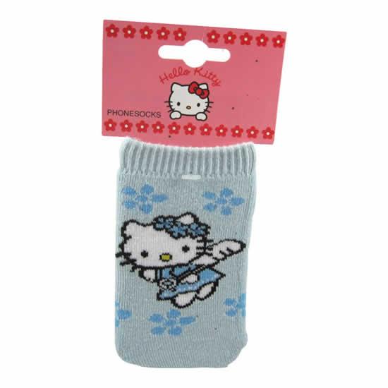 Chaussette téléphone portable Hello Kitty