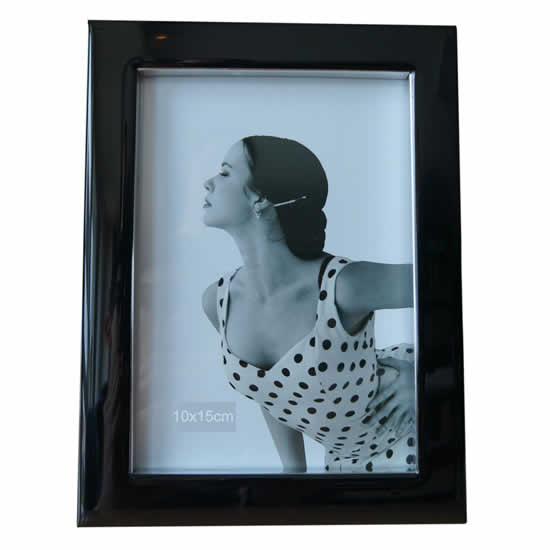 Cadre 10x15 Monnalisa noir