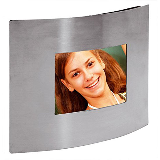 Cadre Métal argent pour photo 6x9 cm