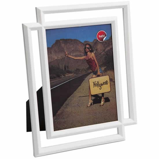 Cadre photo blanc moderne 13x18 Balvi