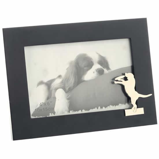 Cadre photo chien animal de compagnie 10x15cm