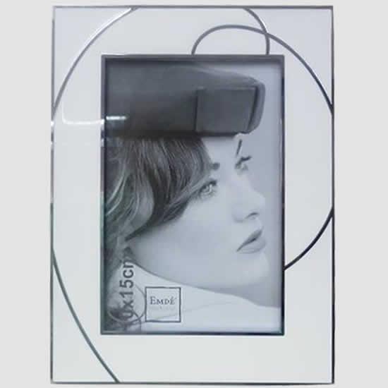 cadre photo email blanc 13x18 emd emd. Black Bedroom Furniture Sets. Home Design Ideas