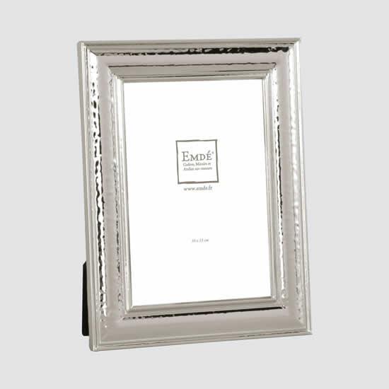 Cadre photo métal argenté 10x15