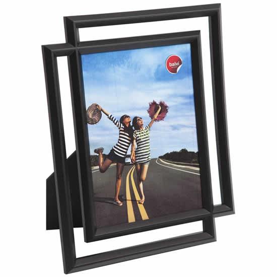 Cadre photo noir moderne 10x15 Balvi