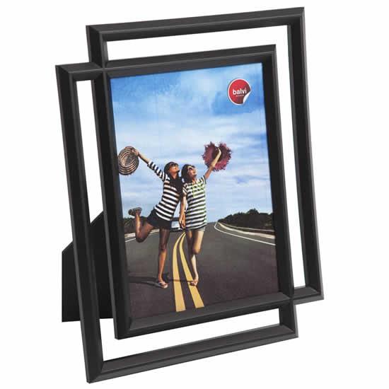 Cadre photo noir moderne 13x18 Balvi