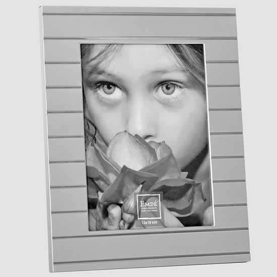 Cadre photos 10x15 design métal