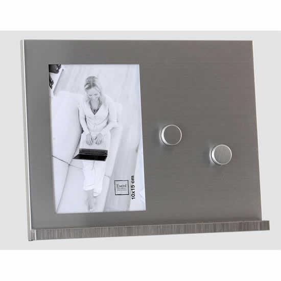 Cadre photos 10x15 métal magnetique