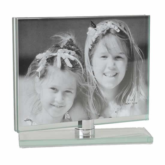 Cadre toupie en verre horizontal 10x15
