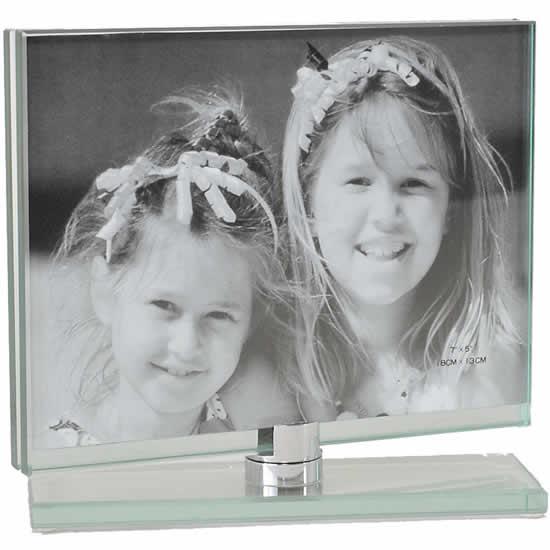 Cadre toupie en verre horizontal 13x18