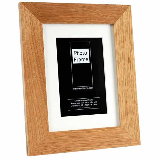 Cadre en bois clair pour photo 20x25cm ou 15x20cm