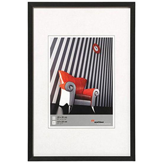 Cadre photo 10x15 Chair Aluminium noir