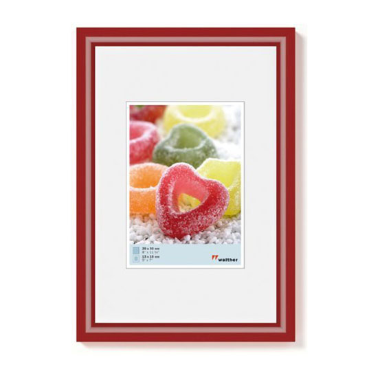Cadre photo 10x15 cm Trendstyle Rouge Brillant