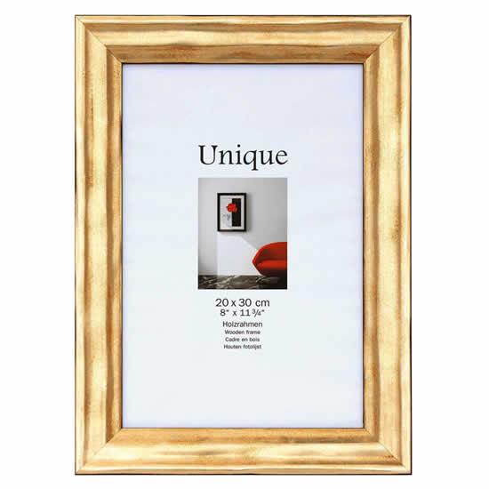 cadre photo 20x30 bois encadrement dor walther. Black Bedroom Furniture Sets. Home Design Ideas