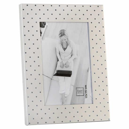 cadre photo alu matte point brillant 10x15 emd emd. Black Bedroom Furniture Sets. Home Design Ideas