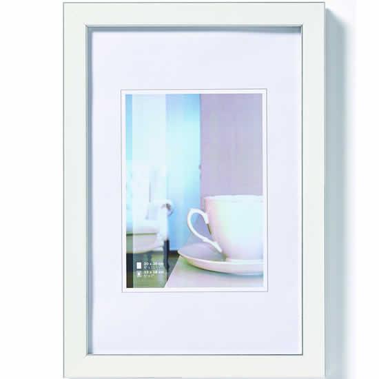 Cadre photo Ambience blanc 13x18 cm
