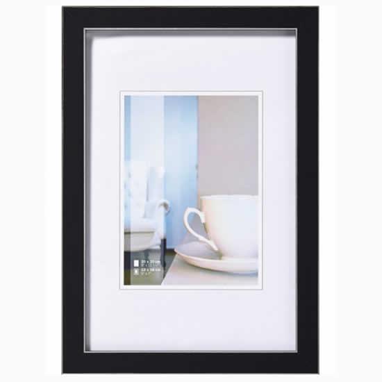 Cadre photo Ambience noir 15x20cm