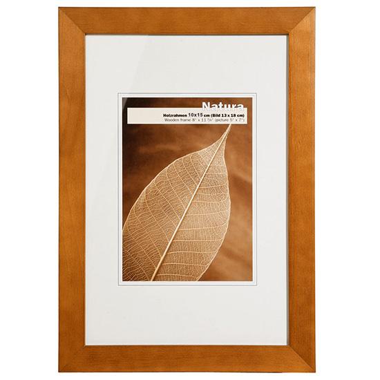 Cadre photo bois couleur hêtre 10x15cm NATURA