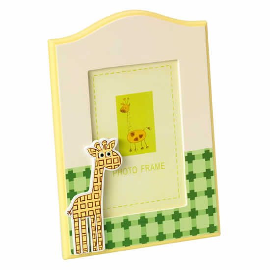 Cadre photo girafe 10x15cm