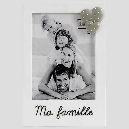 Cadre photo Ma famille pour photo 13x18