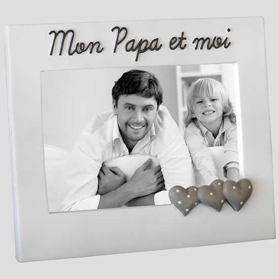 Cadre photo Papa et moi pour photo 10x15
