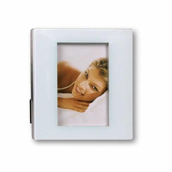 Cadre photo résine blanc 10x15