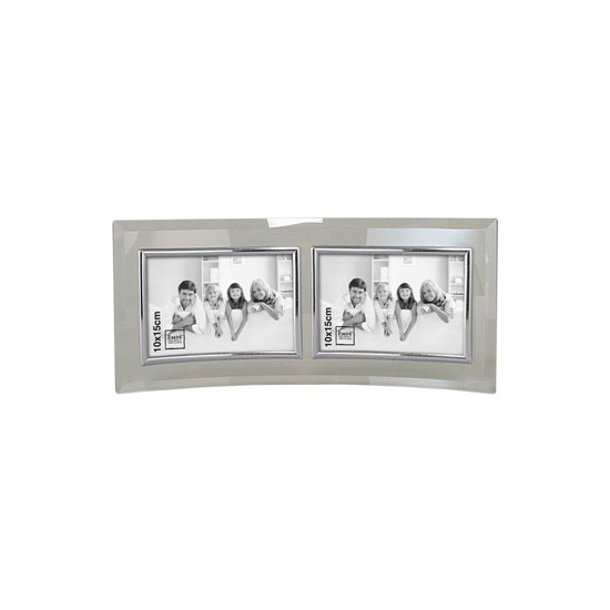 Cadre photo horizontal 2 photos 10x15