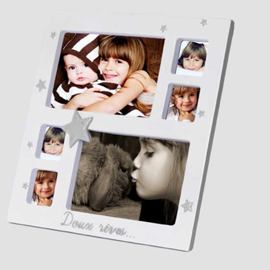 Cadre photo multivues 10x15