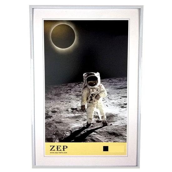 Cadre photo 21x29,7cm Argent A4 galerie