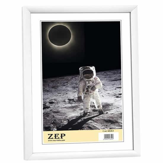 Cadre photo 30x40 blanc zep for Cadre photo numerique mural