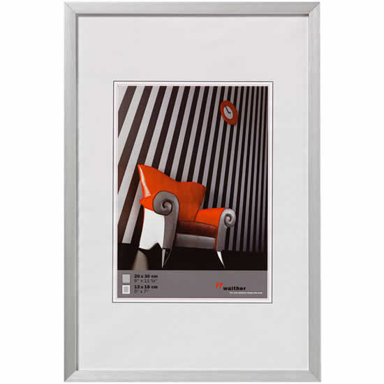 cadre photo aluminium bross 40x60 chair walther. Black Bedroom Furniture Sets. Home Design Ideas