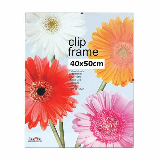 Cadre sous-verre Clip Frame 40x50cm