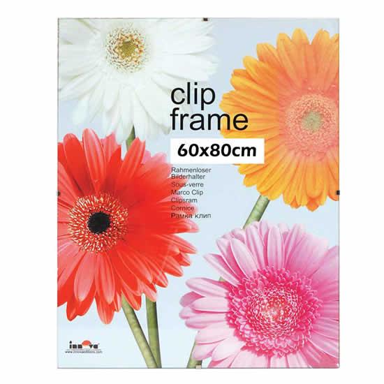 Cadre sous-verre Clip Frame 60x80cm