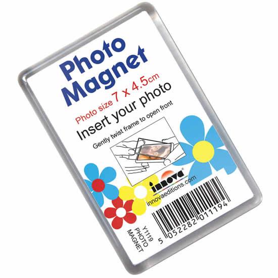 Magnet  photo acrylique 7x4,5cm aimant cadre