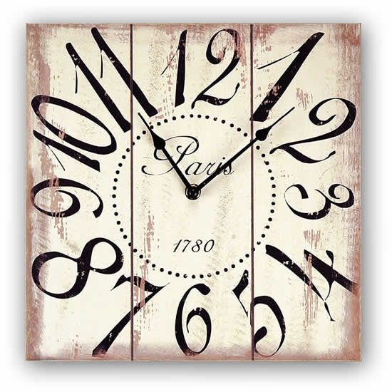 Horloge Paris Zep aspect vieilli