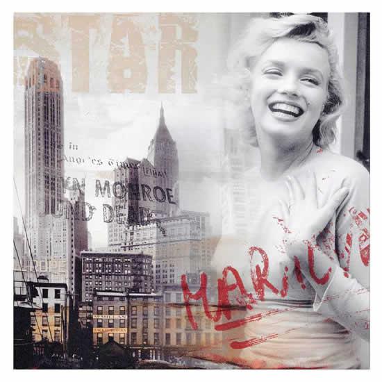 Tableau Marylin Monroe New York 40x40