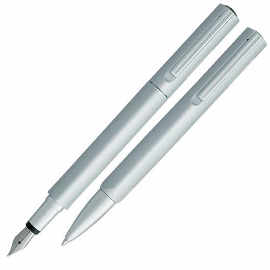 Parure stylo plume et bille VUARNET Delta satine