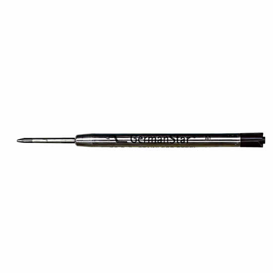 Recharge stylo type parker moyen noir