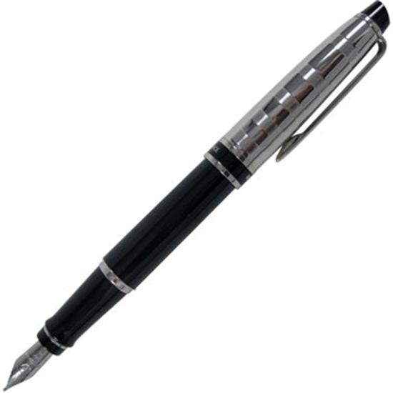 Stylo plume moyenne Waterman Expert 3 Deluxe noir