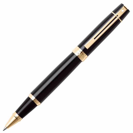 stylo roller Sheaffer noir or