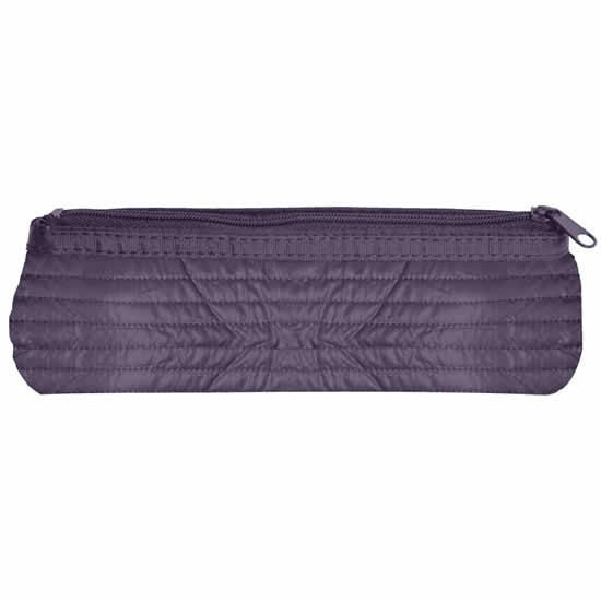 Trousse scolaire ronde 4 couleurs assorties violet