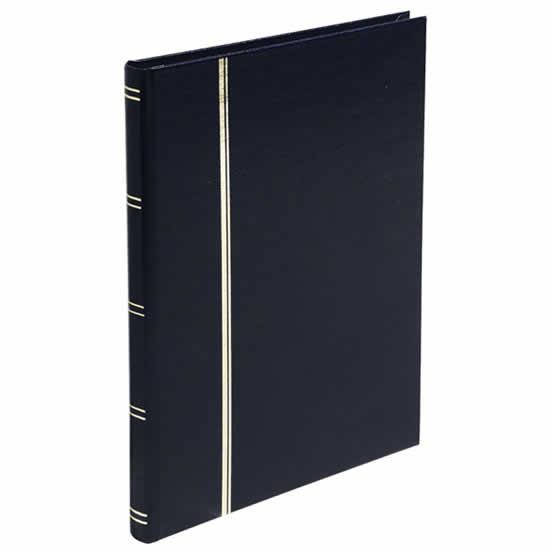 Album timbres 32 pages noir 165x225 mm