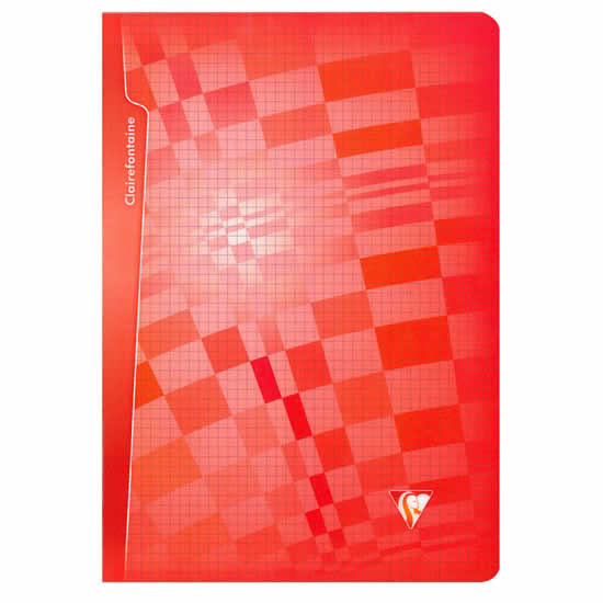Cahier scolaire A4 rouge Clairefontaine 96 pages